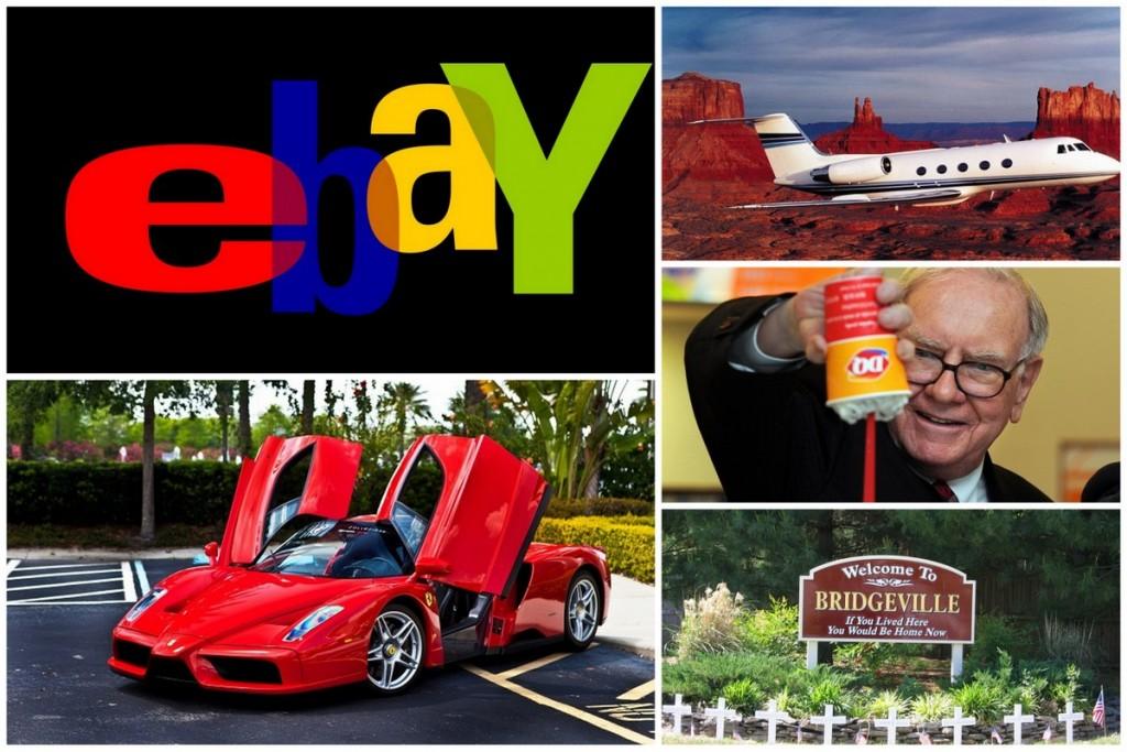 Şu Ana Kadar Ebay'da Satılan En Pahalı 10 Eşya