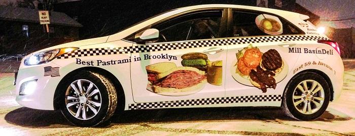 Arabayı Reklam Panosu Olarak Kullanmak