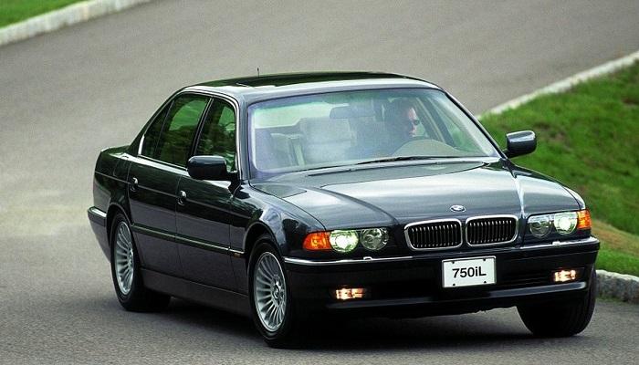2001 Model BMW 7 Serisi