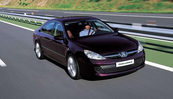 2002 Model Peugeot 607