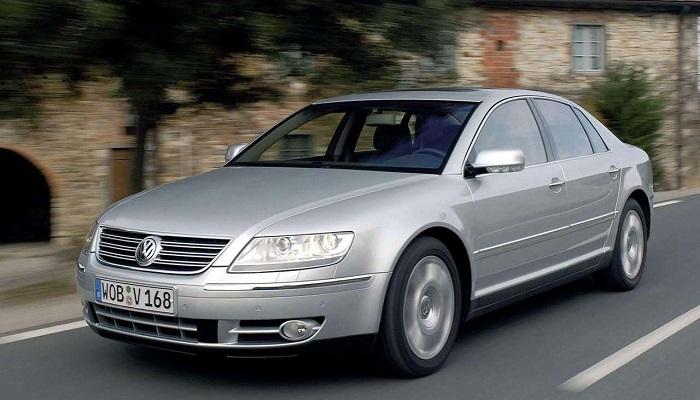 2003 Model Volkswagen Phaeton