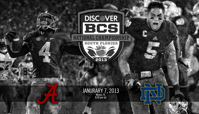 2012 BCS Ulusal Şampiyonası Notre Dame&Alabama - Kolej Futbolu