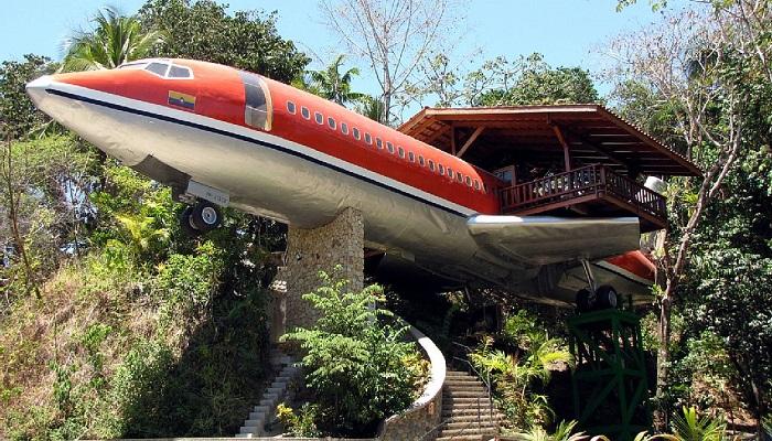 727 Uçak Gövdesi Evi - Costa Rica