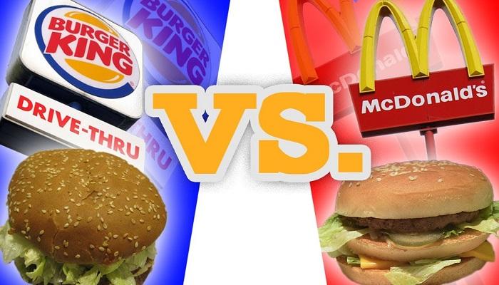 Burger King - McDonalds