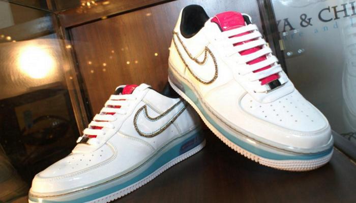 Elmas İşlemeli Ayakkabı - Nike Air Force1