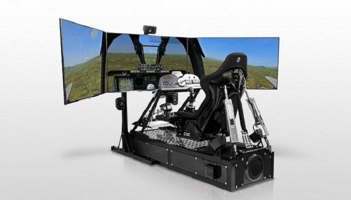 Home Pro Racing Video Game Simulation System