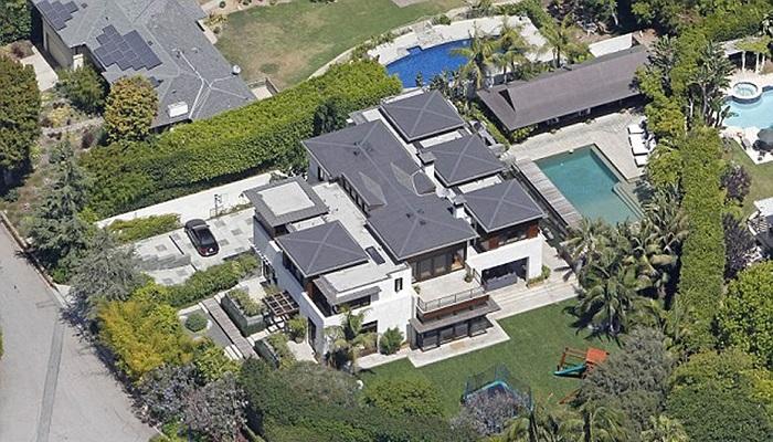 Matt Damon - Pacific Palisades Evi
