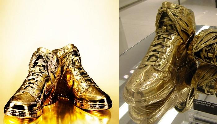 Nike Altın Spor Ayakkabısı