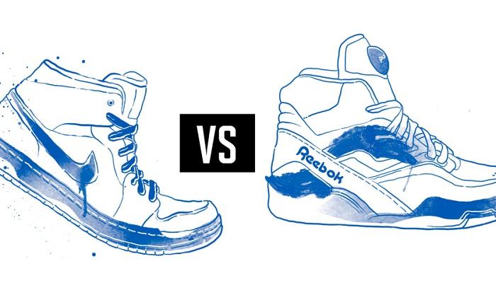 Nike - Reebok