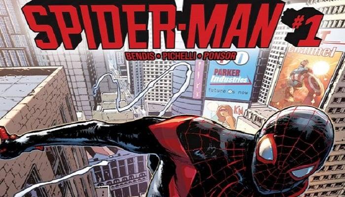 Örümcek Adam Çizgi Romanı
