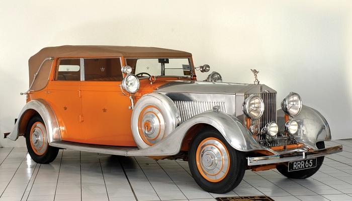 "Rolls-Royce Phantom II Continental ""Hindistan Yıldızı"""