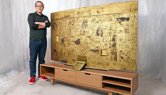 Saf Altın Kaplama Samsung Ultra HD TV'nin Yapılış Amacı Nedir?