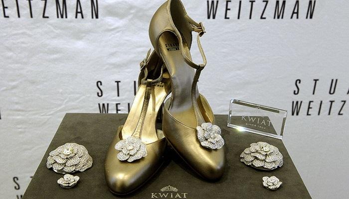 Stuart Weitzman'nın Retro Rose Gece Ayakkabısı