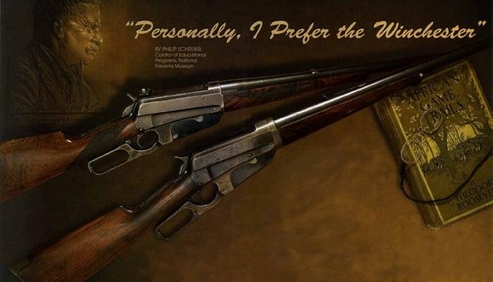 Teddy Roosevelt'in Çift Kırma Av Tüfekleri
