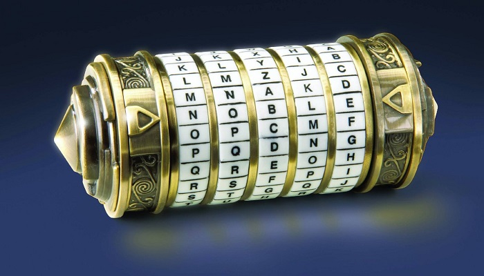 Tom Hanks'ın Kullandığı Kripteks - Da Vinci'nin Şifresi
