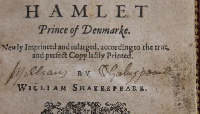William Shakespeare'in İmzası