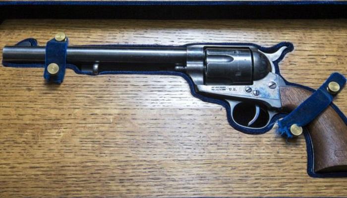 Wyatt Earp's Colt 45 Kalibre Revolver