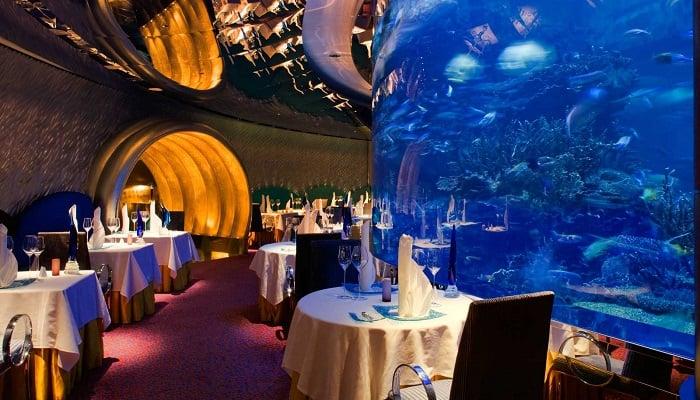 Burj Al Arab'ın Lüks Restoranları