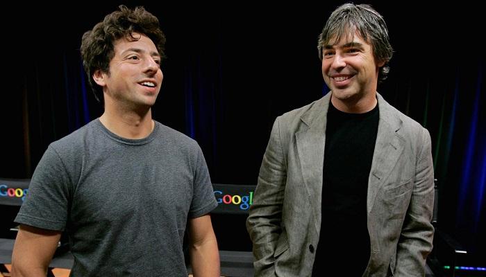 Sergey Brin&Larry Page