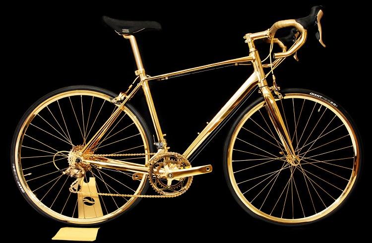 """Dünyanın En Pahalı Bisikleti """"Goldgenie Altın Kaplama Bisiklet"""""""