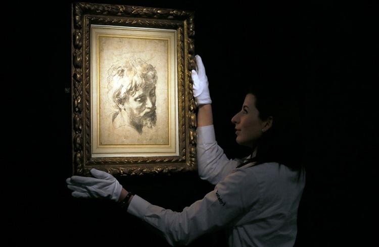 """Dünyanın En Pahalı Çizimi """"Head of Apostle"""""""