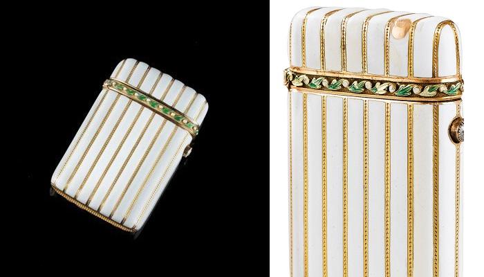 Faberge Mücevher ve Beyaz Çakmak