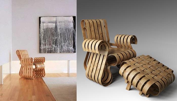 Gehry Güç Oyunu Kulübü Sandalyesi