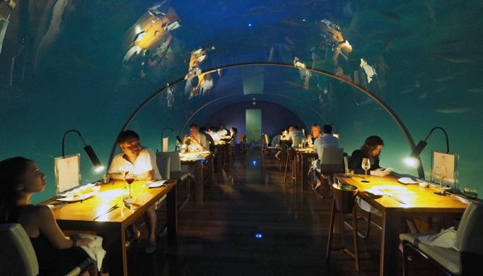 Ithaa Denizaltı Restoranı