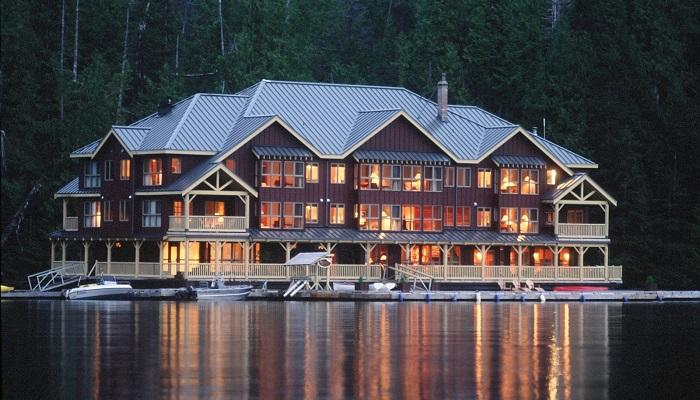 King Pacific Lodge - Great Bear Yağmur Ormanları/Kanada