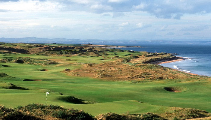 Kingsbarns Golf Sahası - İskoçya