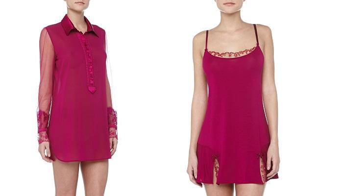 La Perla Maharani Dantel Detaylı Saten Uyku Elbisesi