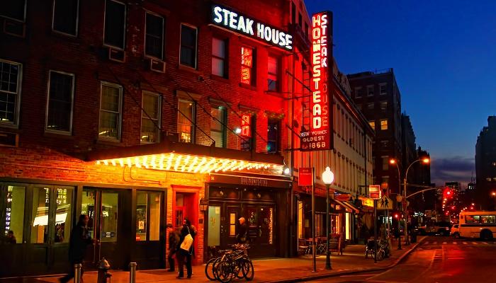 Old Homestead Steakhouse - Kobe Bifteği