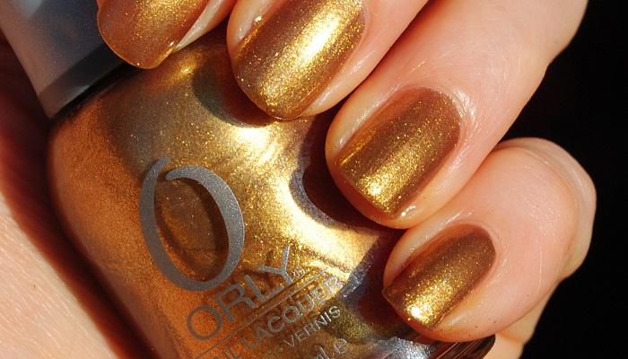 Orly - Altın Manikür