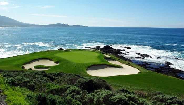 Pebble Beach Golf Sahası - Kaliforniya