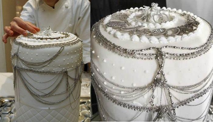 Platin Düğün Pastası