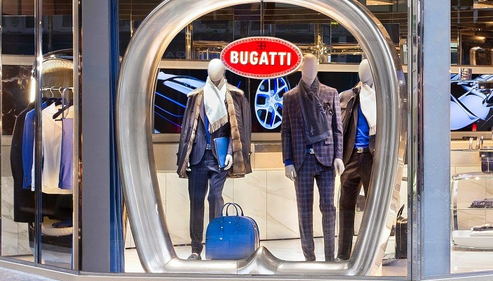 The Blue of London - Bugatti