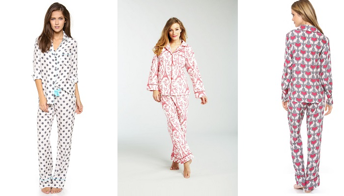 Three J NYC Coco İpek Pijama