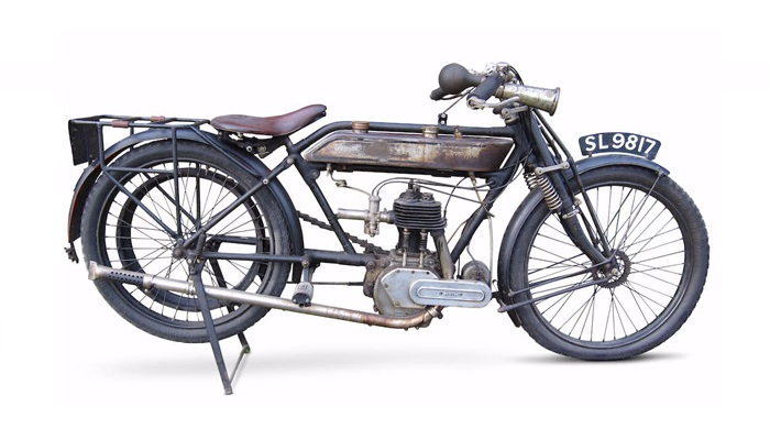 1916 Norton 490cc Model 8