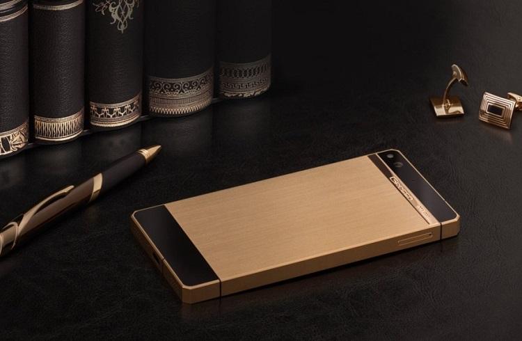 """Gresso Altın Kaplama Akıllı Telefon: """"Regal Gold"""""""