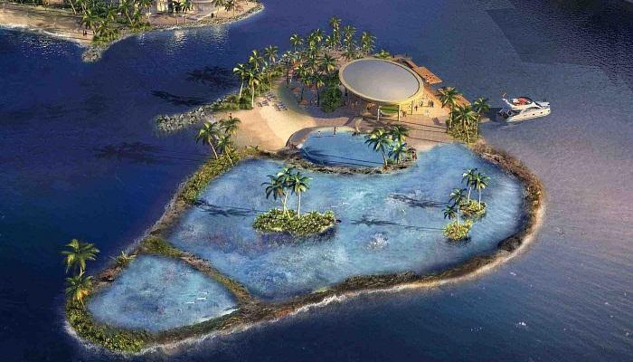 Dubai'nin Lüks Yüzen Adaları
