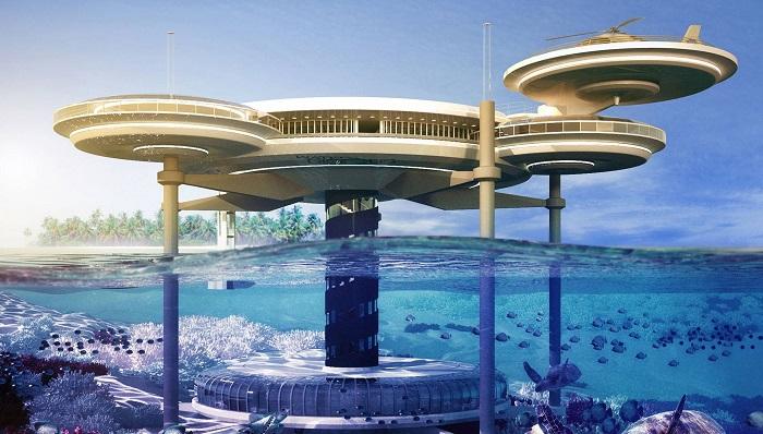Dubai'nin Yüzen Adalar Üzerindeki Lüks Villalar