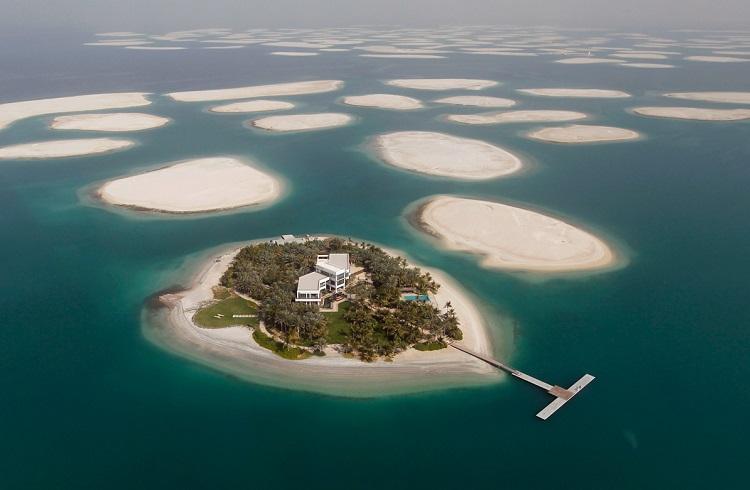 Dubai Adalarındaki Yüzen Lüks Villa Projesi
