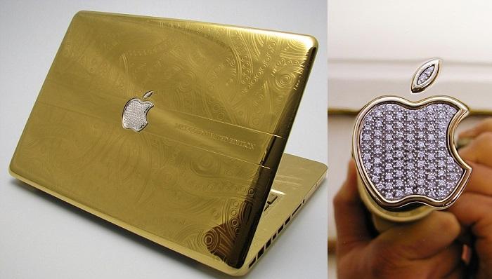 MacBook Pro 24 Ayar Altın