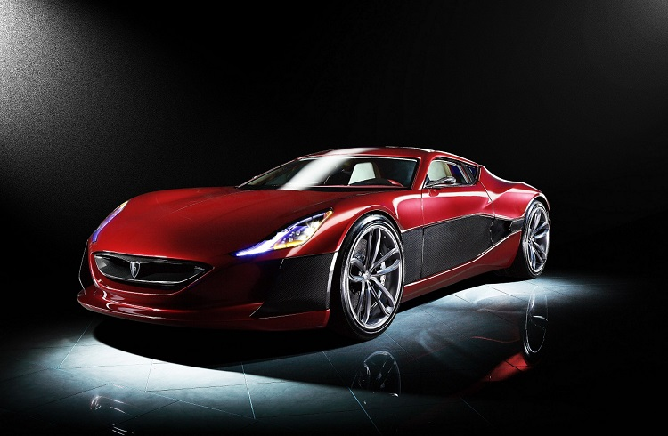 """Dünyanın İlk Elektrikli Süper Otomobili: """"Rimac Concept One"""""""