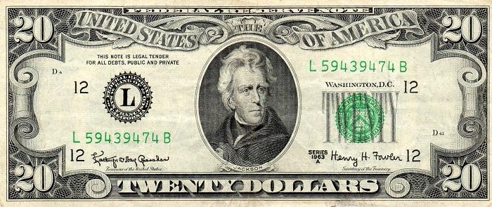 En Çok Taklit Edilen Para 20 Dolardır