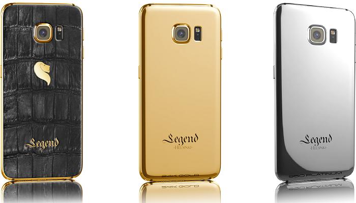 Galaxy S6 ve S6 Edge - Tasarım Legend