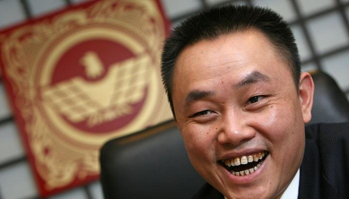 Huang Guangyu ve Du Juan