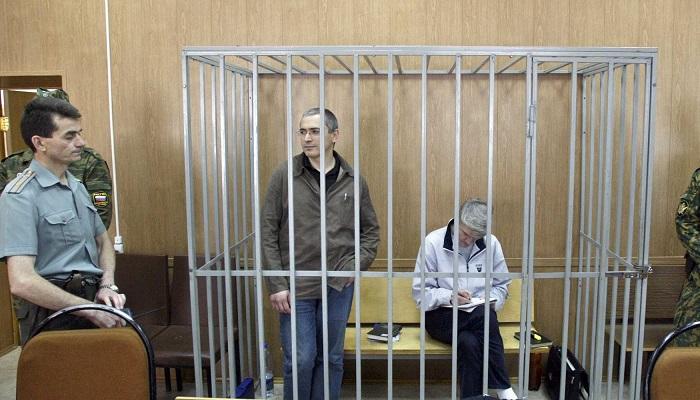 Mikhail Khodorkovsky ve Platon Lebedev
