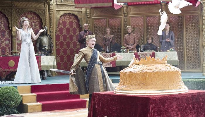 Joffrey Baratheon ve Margaery Tyrell