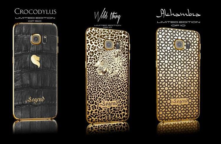 Legend Firmasından Lüks Tasarım: Samsung Galaxy S6 ve S6 Edge